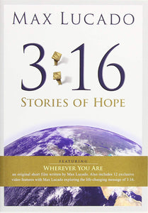 Max Lucado 3:16 Stories of Hope DVD