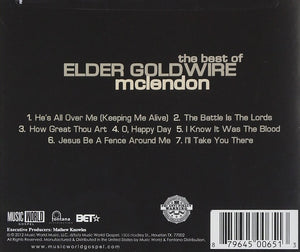Elder Goldwire McLendon The Best of CD