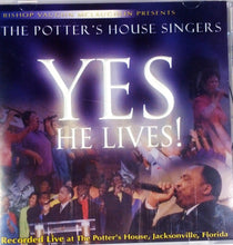 Potter's House Singers Yes He Lives CD