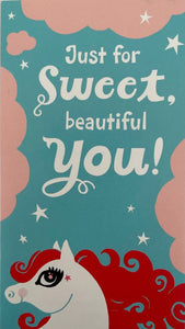 Card Congratulations : Sweet You (pack of 2)