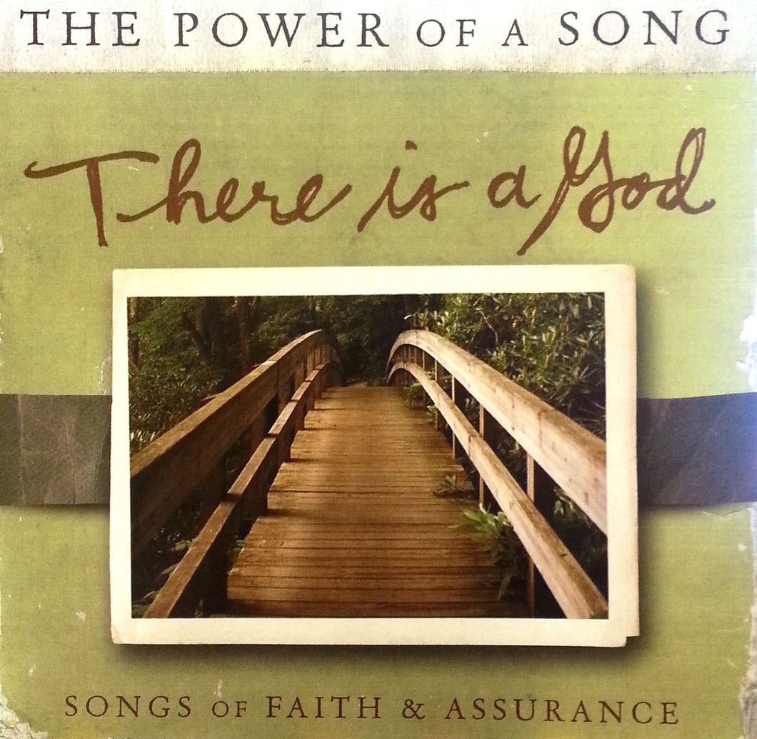 Various Power of a Song : There Is a God CD