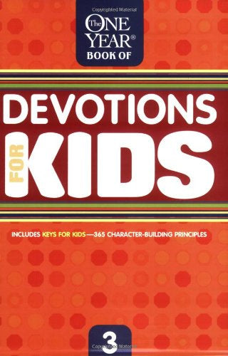Tyndale Kids 1Yr Devotions for Kids v.3