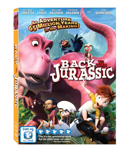 Back to the Jurassic DVD