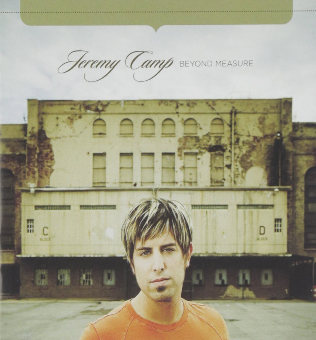 Jeremy Camp Beyond Measure CD