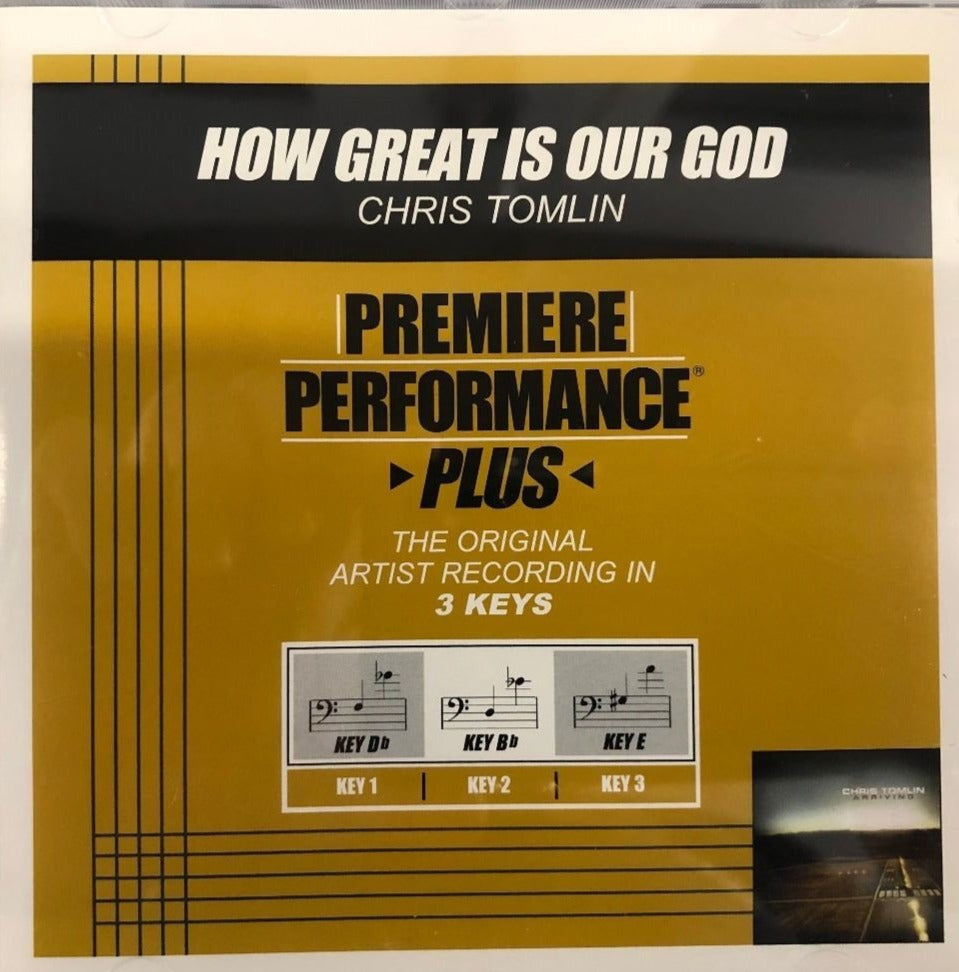 Chris Tomlin How Great is Our God Premiere Performance Plus Track CD