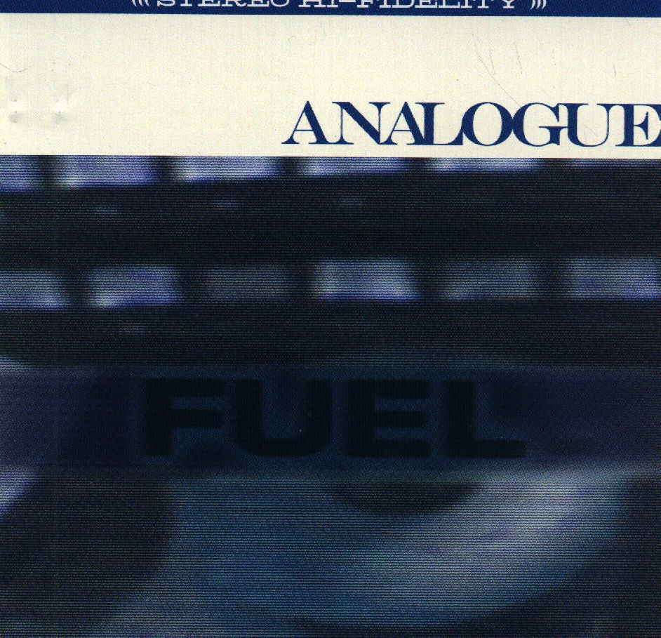 Analogue Fuel CD