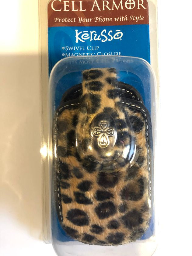 Cell Armor Cover Leopard Natural