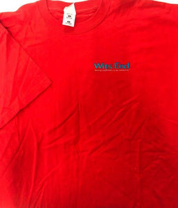 T-Shirt Wits End Red