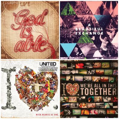 Hillsong 4DVD Collection Bundle Pack