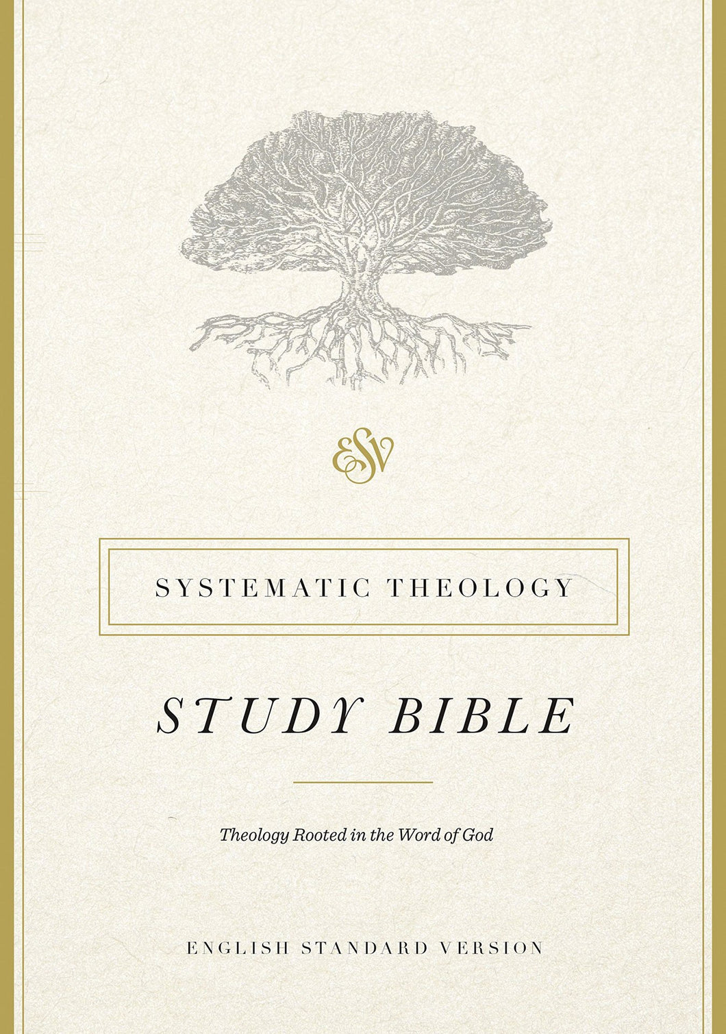 ESV Systematic Study Bible Hardcover