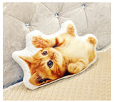 Custom Photo Cat and Dog Pillow Cushion