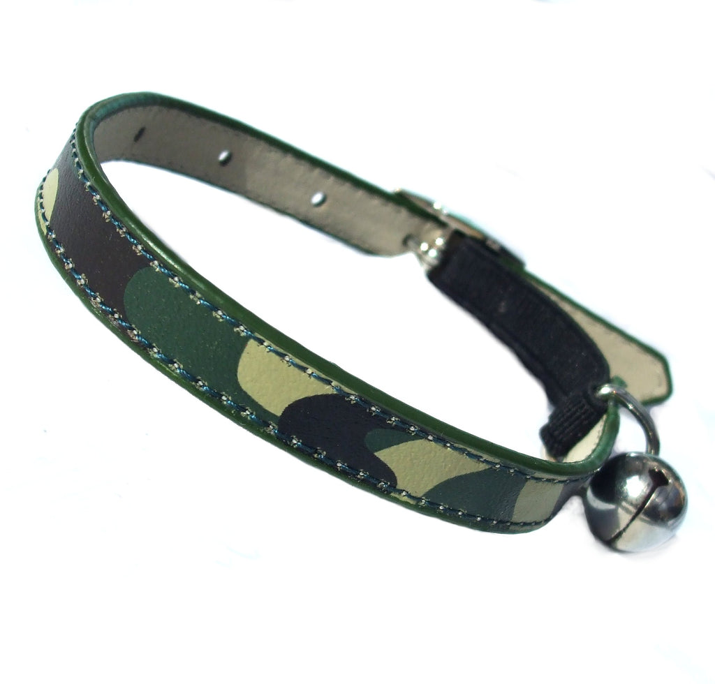 Army Camo Cat Collar