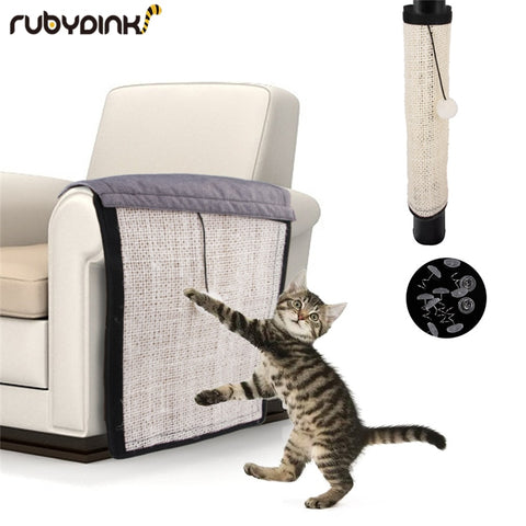 Sisal Foldable Scratcher Mat Furniture Protector