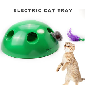 Pop 'n Play Electronic Cat Play Device