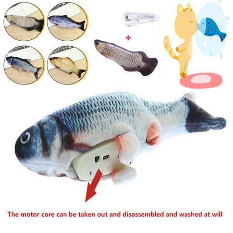USB Interactive Fish Toy
