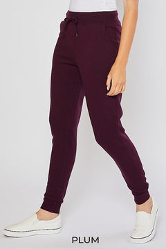 Kimberly Joggers - Plum
