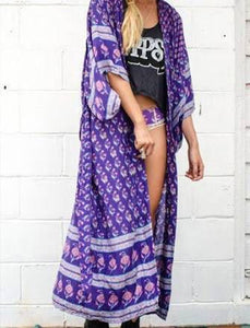 Bohemian Royale Deep Purple Kimino by Spell & The Gypsy