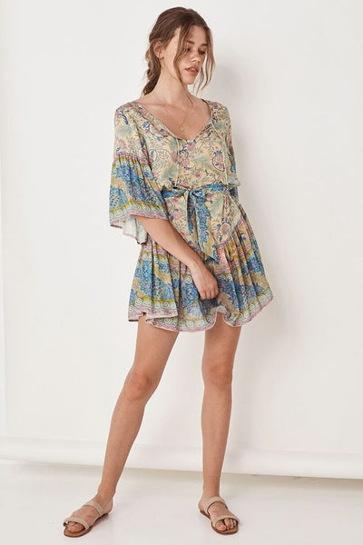 Oasis Mini Dress Opal by Spell & The Gypsy