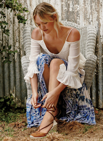 Hotel Paradiso BlueBird Castaway Skirt by Spell & The Gypsy