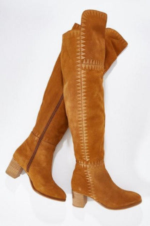 Marlee Over the Knee Boots by Human Premium