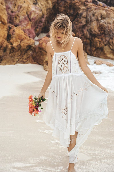 Isla Bonita Embroidered Dress White by Spell & The Gypsy