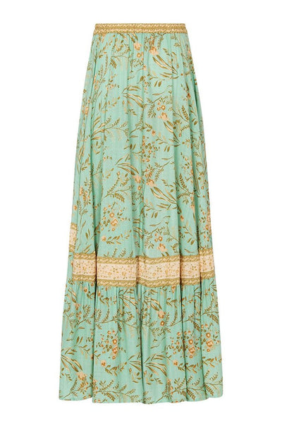 "Maisie ""Inspired"" Skirt in Vintage Turquoise"