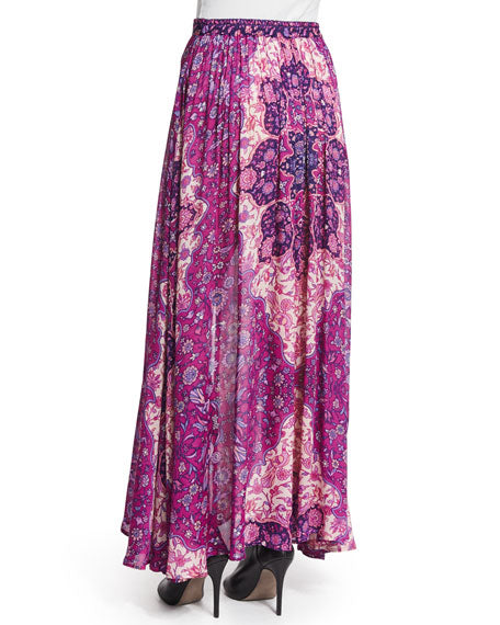 Kiss the Sky Maxi Skirt in Violet by Spell & The Gypsy
