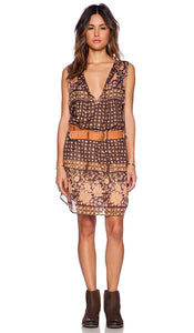 Desert Rose Shift Dress in Raven by Spell & The Gypsy