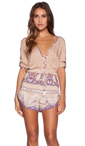 Xanadu Playsuit Gold Dust by Spell & The Gypsy