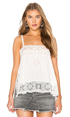 Peaches Cami in White by Spell & The Gypsy