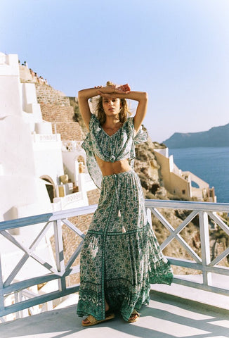 Kombi Flutter Top Sage by Spell & The Gypsy