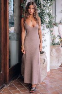 Petra Metallic Knit Slip Dress by Spell & The Gypsy