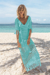 Palm Springs Blue Crochet Dress by Spell & The Gypsy