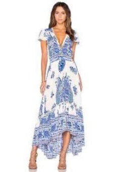 Hotel Paradiso Gown Bluebird by Spell & The Gypsy