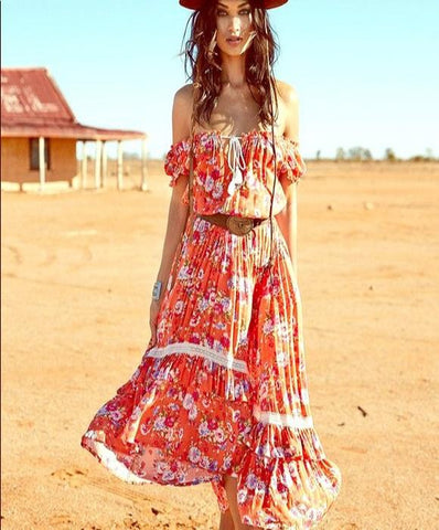 Spell Revolver Midi dress authentic rare Spell and the Gypsy