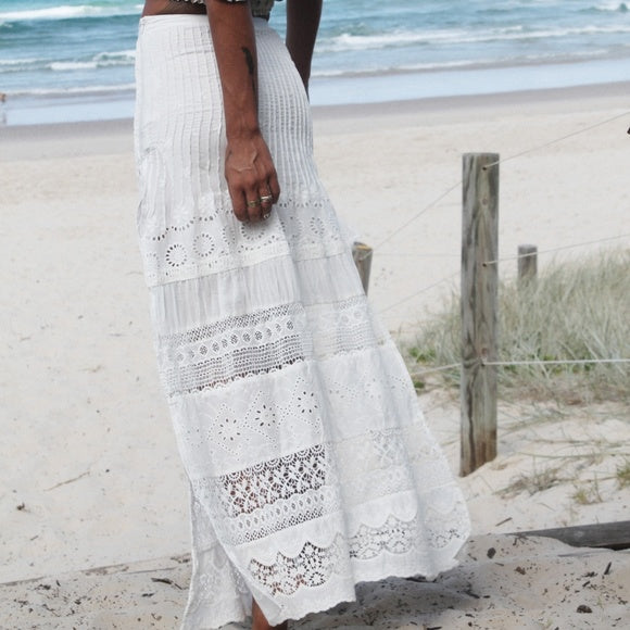 Sahara Lace Split Maxi Skirt by Spell & the Gypsy