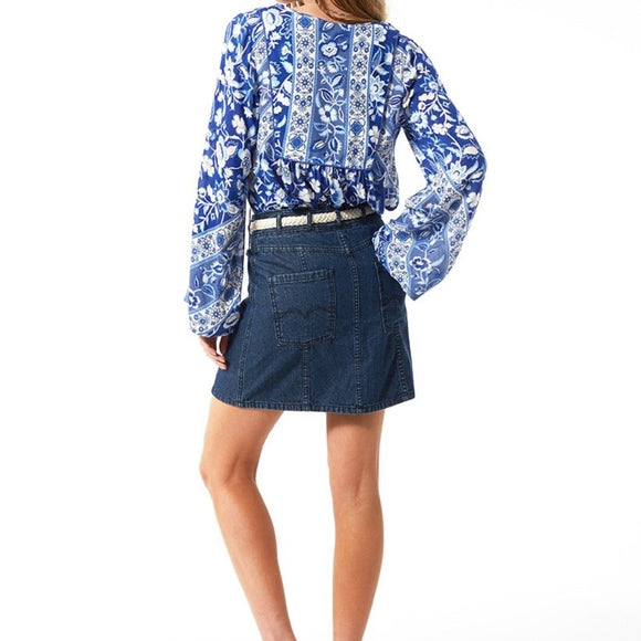 Boulevard Denim Skirt by Spell & The Gypsy