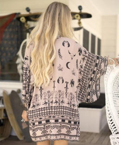 Tribal Mushroom Kimino by Spell & the Gypsy