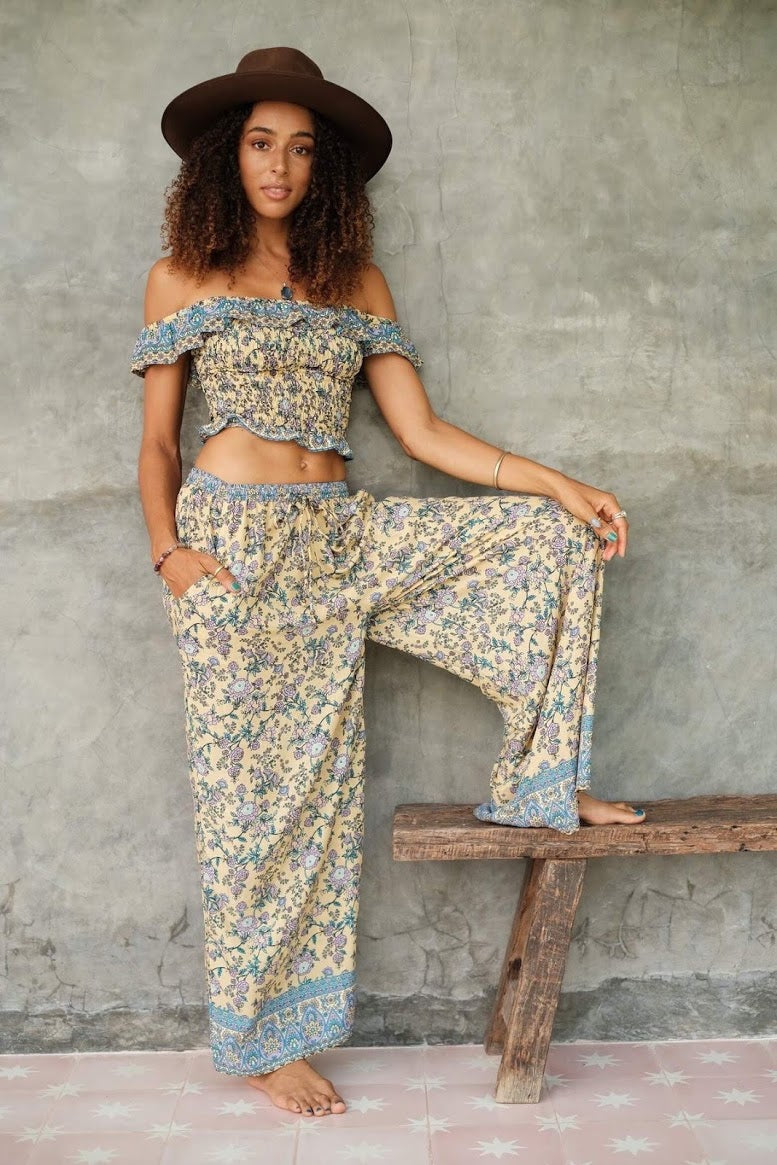 Orleans Wide Leg Pants by Mahli The Label