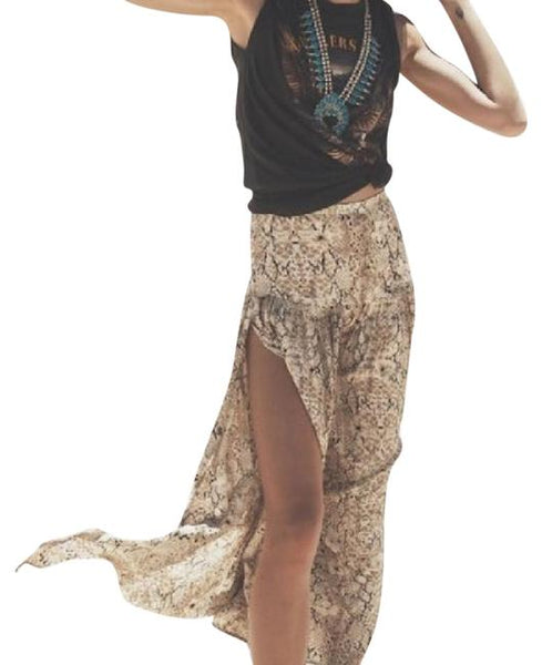 Aloha Python Side Split maxi Skirt by Spell & The Gypsy