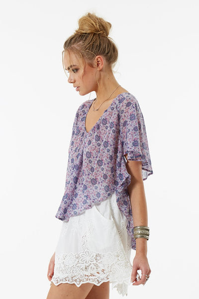 Kombi Flutter Top in Lavender by Spell & The Gypsy