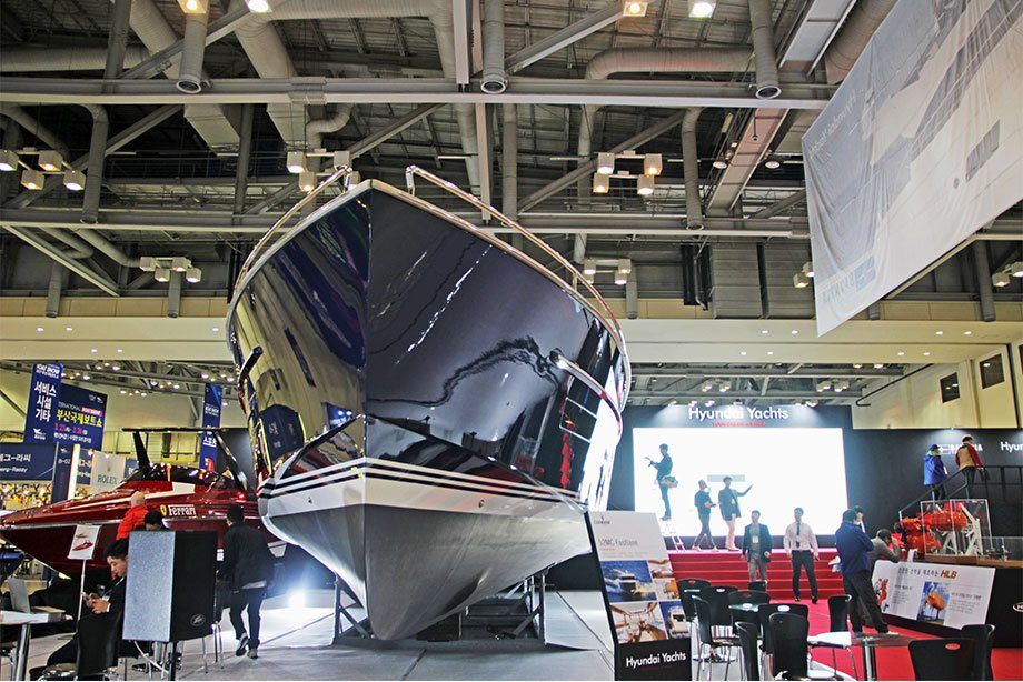 Crown Goose Crown Featured - 2017 BEXCO INTERNATIONAL BOAT SHOW