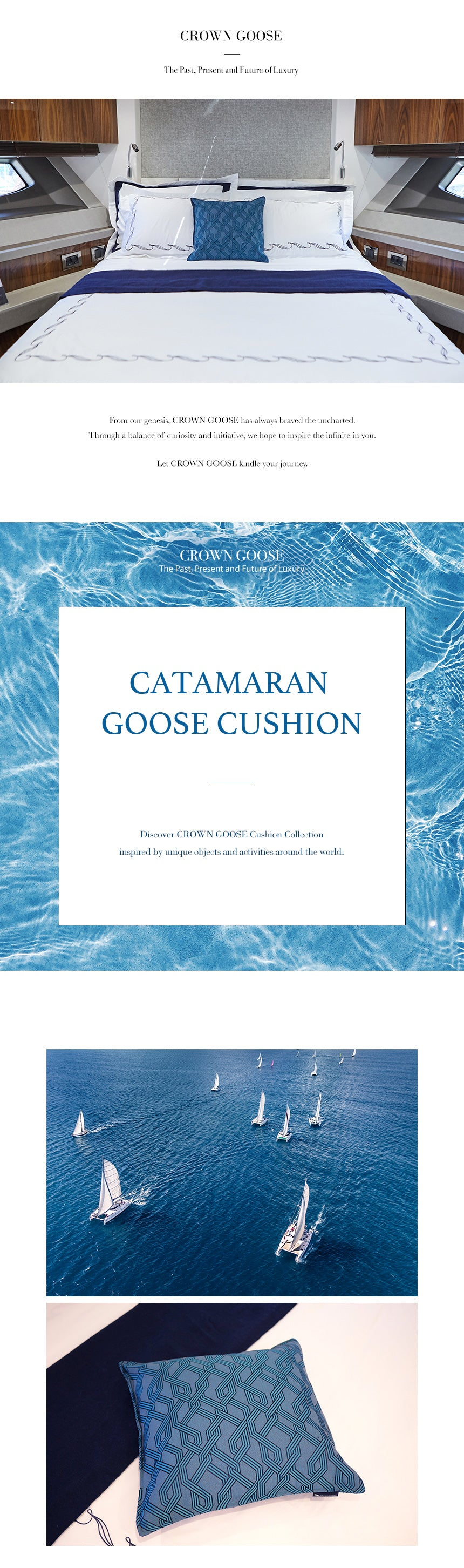 catamaran cushion_crowngoose