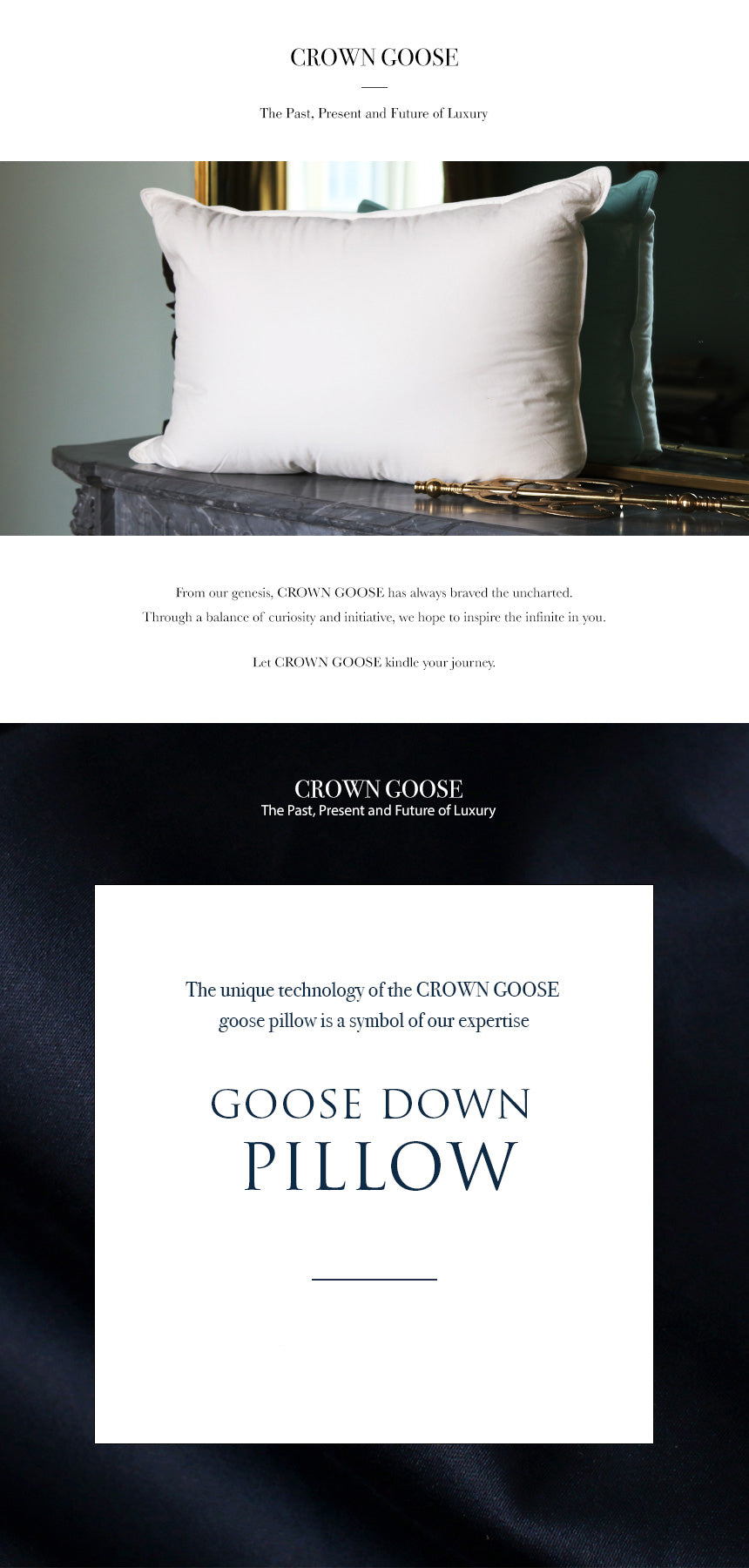 CrownGoose- Pillow 1