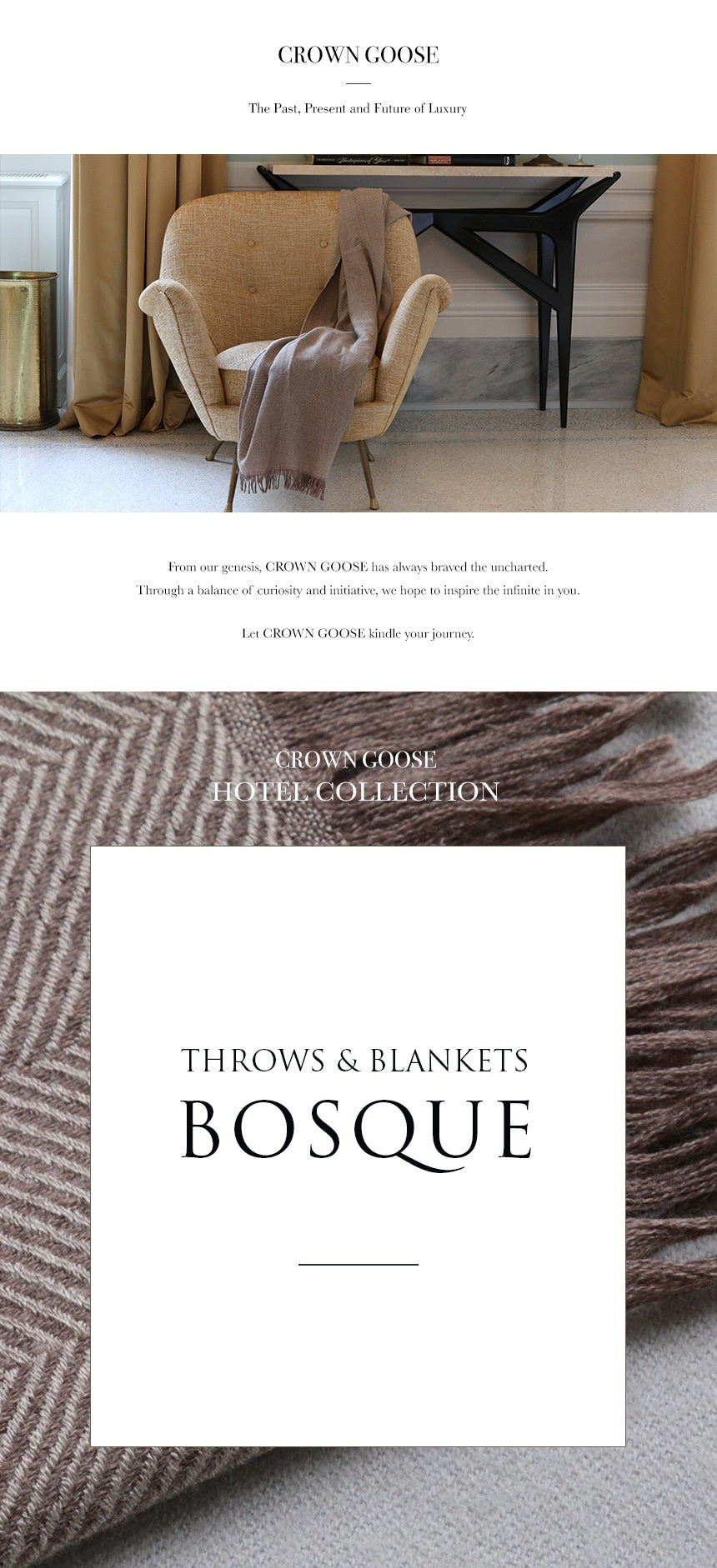 Throw & Blanket Dalton - Bosque