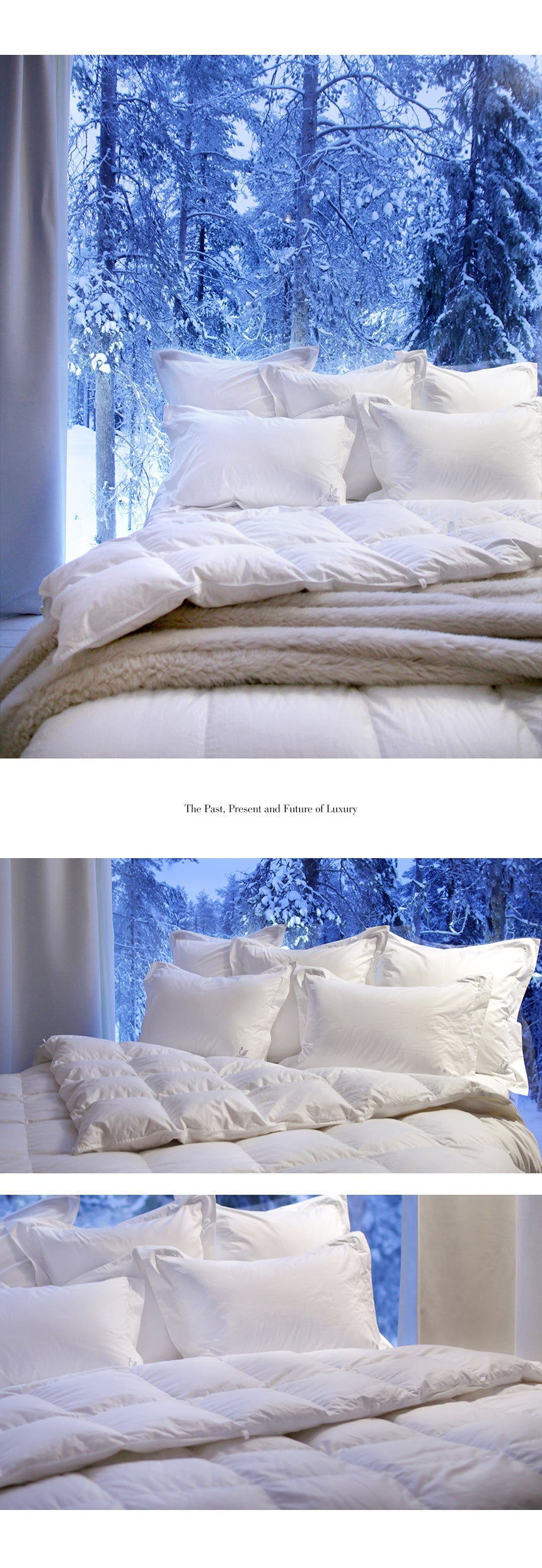 Goose Down Duvet - Twin