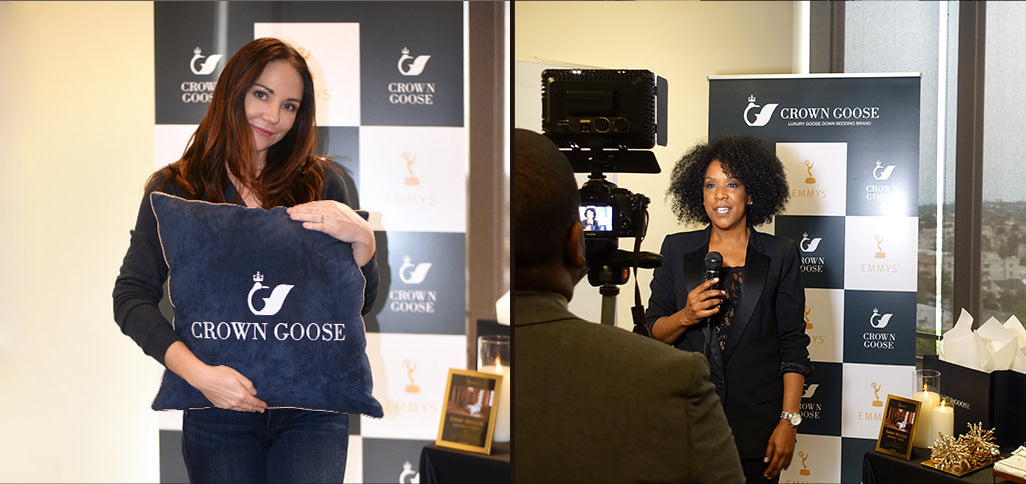 CELEBRITIES with CROWN GOOSE_emmyawards