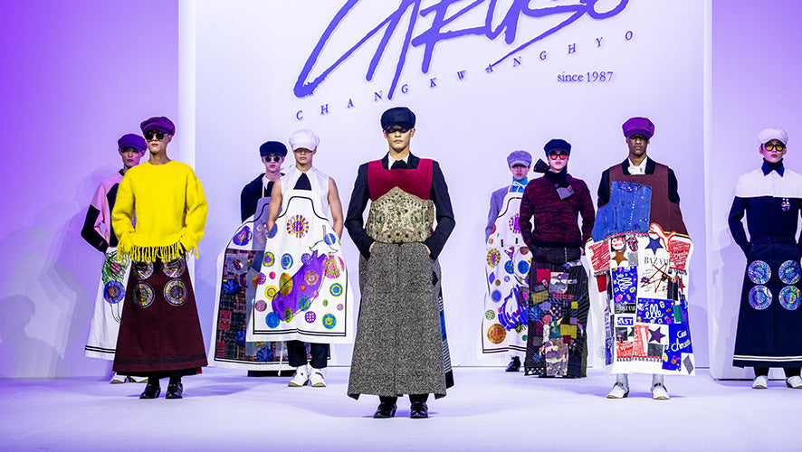 2019 F/W SEOUL FASHION WEEK : CROWN GOOSE X CARUSO