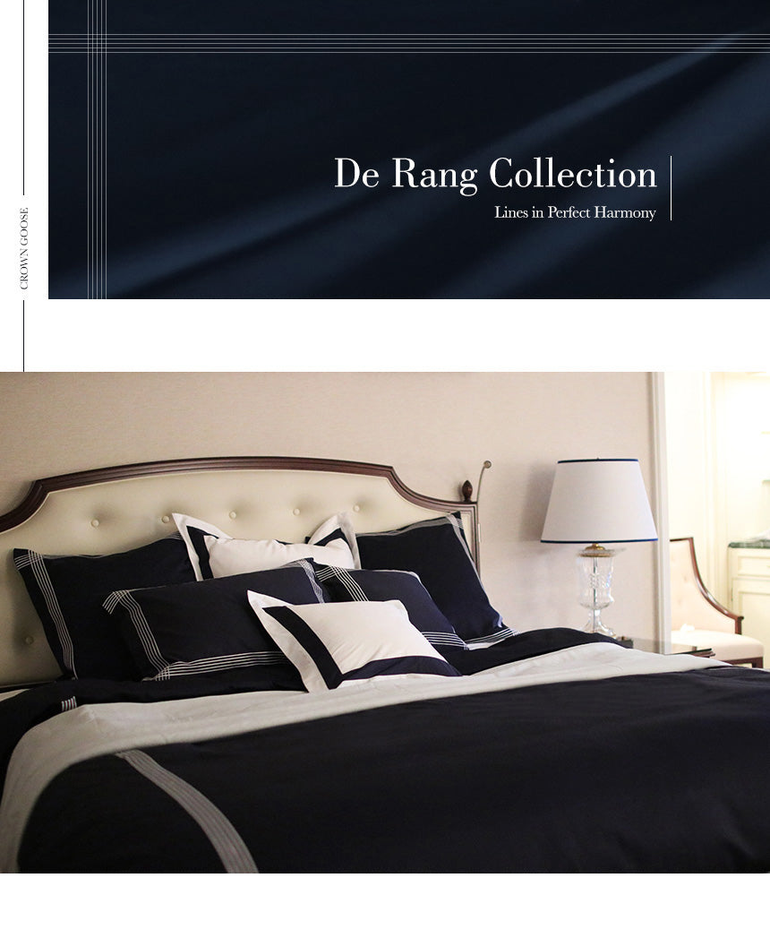 Duvet Cover Set | De Rang Collection, Navy