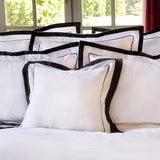 Duvet Cover Set Jardinne Collection, Charcoal - Crown Goose